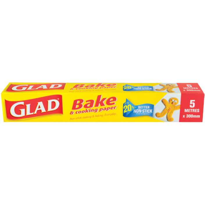 Glad® Bake & Cooking Paper 300mm x 5m