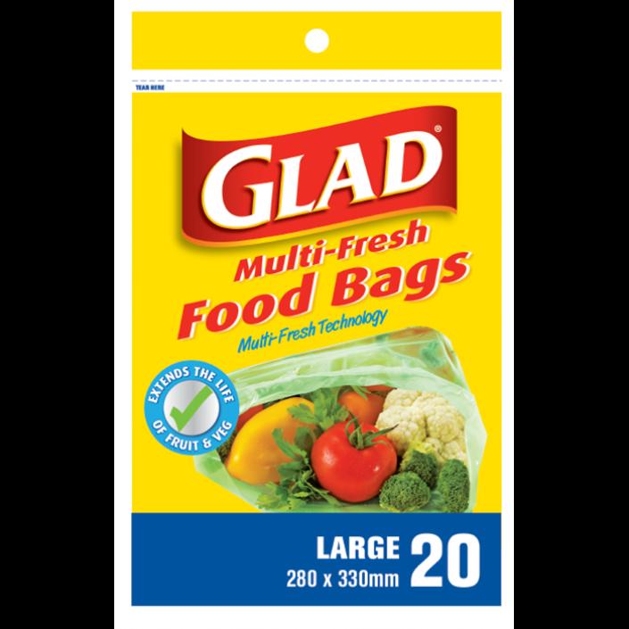 Glad® Multi-Fresh Food Storage Bags